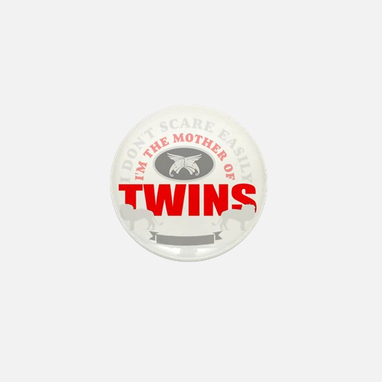 Brave mother of twins Mini Button