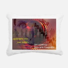 Own Your Vision Rectangular Canvas Pillow