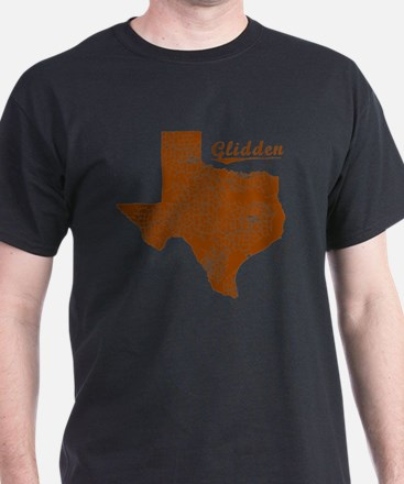 Glidden, Texas (Search Any City!) T-Shirt