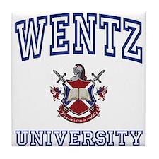 WENTZ University Tile Coaster
