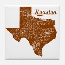 Houston, Texas (Search Any City!) Tile Coaster