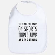 Triple jump Designs Bib