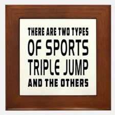 Triple jump Designs Framed Tile