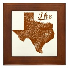 Ike, Texas (Search Any City!) Framed Tile