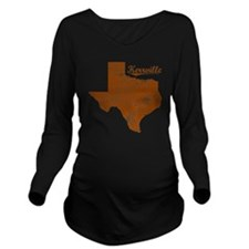 Kerrville, Texas (Se Long Sleeve Maternity T-Shirt