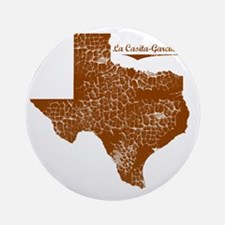 La Casita-Garciasville, Texas Round Ornament