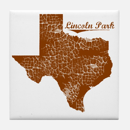 Lincoln Park, Texas (Search Any City! Tile Coaster