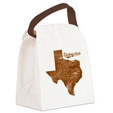Livingston, Texas (Search Any Cit Canvas Lunch Bag