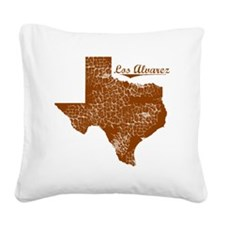 Los Alvarez, Texas (Search An Square Canvas Pillow
