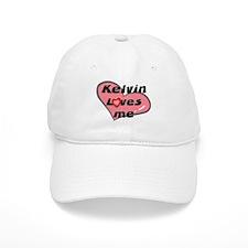 kelvin loves me Baseball Cap