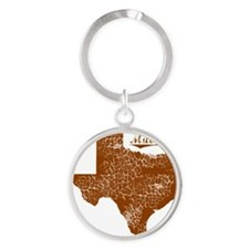 Muldoon, Texas (Search Any City!) Round Keychain