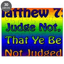 JudgeNotBanner Puzzle