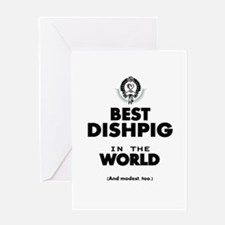 The Best in the World – Dishpig Greeting Cards