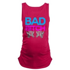 Bad Bitch Maternity Tank Top