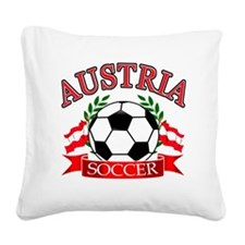 Austria.complete Square Canvas Pillow