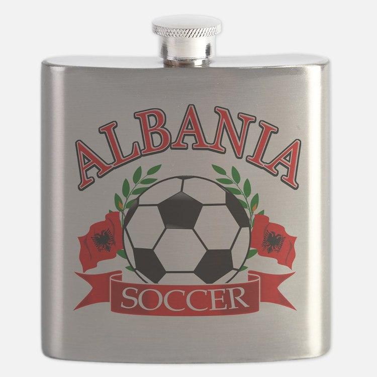 albania soccer designs Flask
