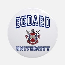 BEDARD University Ornament (Round)