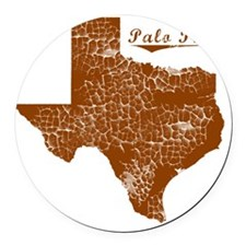 Palo Pinto, Texas (Search Any Cit Round Car Magnet