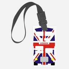London Bus Union jack celebratio Luggage Tag