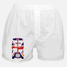 London Bus Union jack celebration bus Boxer Shorts