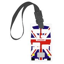 Union Jack London Bus Luggage Tag