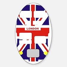 Union Jack London Bus Decal