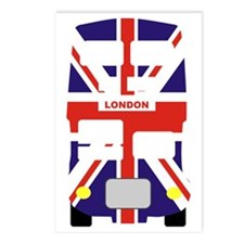 Union Jack London Bus Postcards (Package of 8)