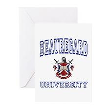 BEAUREGARD University Greeting Cards (Pk of 10