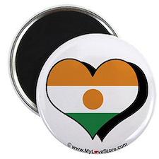 """I Love Niger 2.25"""" Magnet (100 pack)"""