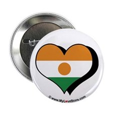 "I Love Niger 2.25"" Button (100 pack)"