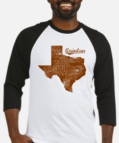 Quinlan, Texas (Search Any City!) Baseball Jersey