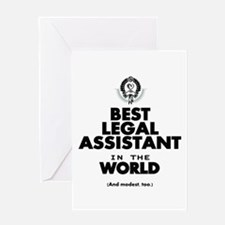 The Best in the World – Legal Assistant Greeting C