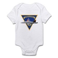 Carrier Air Wing FIVE Infant Bodysuit