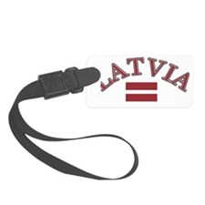 latvia Luggage Tag