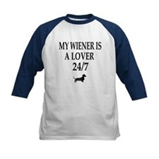 Wiener Is A Lover 24/7 Dachshund Tee