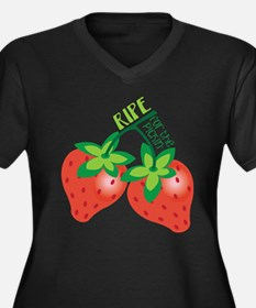 Ripe For The Pickin Plus Size T-Shirt