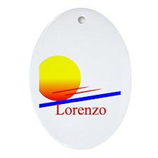 Lorenzo Oval Ornament