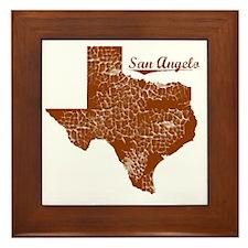 San Angelo, Texas (Search Any City!) Framed Tile