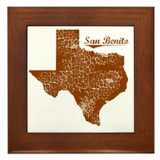 San Benito, Texas (Search Any City!) Framed Tile