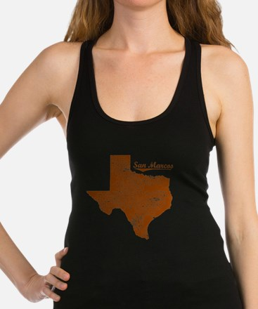 San Marcos, Texas (Search Any C Racerback Tank Top