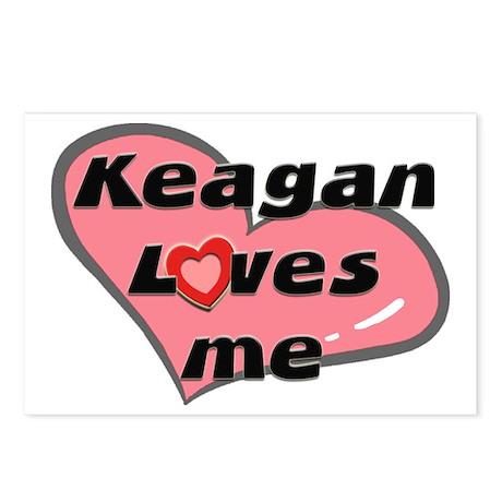 keagan loves me Postcards (Package of 8)