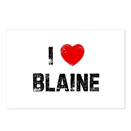 I * Blaine Postcards (Package of 8)