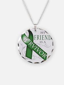 My Friend is a Survivor (gre Necklace Circle Charm