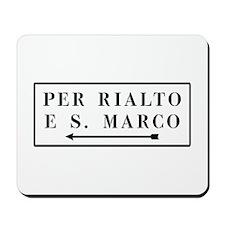 Per Rialto e S. Marco, Venice (IT) Mousepad