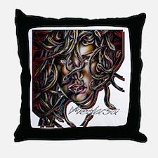 Medusa No. Three Throw Pillow