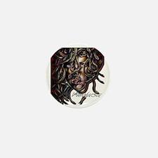 Medusa No. Three Mini Button
