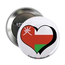 """I Love Oman 2.25"""" Button (100 pack)"""