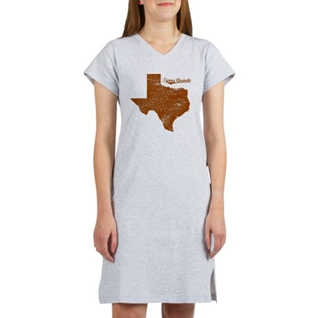 Tierra Grande, Texas. Vintage Women's Nightshirt