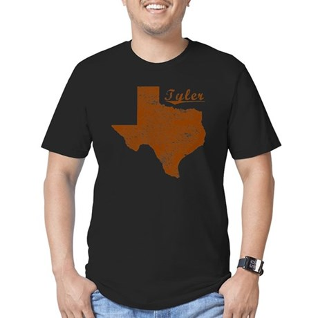 Tyler, Texas (Search A Men's Fitted T-Shirt (dark)