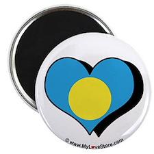"I Love Palau 2.25"" Magnet (100 pack)"
